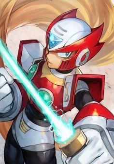 Video Game Anime, Video Game Art, Mega Man, Game Character, Character Design, Toon Squad, Zero Wallpaper, Megaman Zero, Megaman Series
