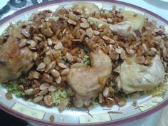 the most popular Iraqi dish ; (Biryani) ... yum yum ..  By my Mom :)