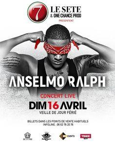 No dia 16 de Abril o Anselmo Ralph promete tirar todo mundo do chão neste grande concerto da Le Sete & One Chance prod em França!TRACE Toca A Paixão Da Musica! #anselmoralph @anselmoralph  @bomsom_angola  @madlicecordeiro #tracetoca #apaixaodamusica