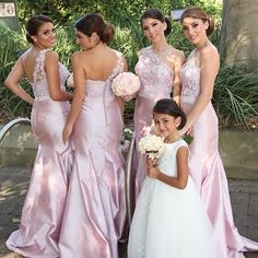 Gorgous One Shoulder Pink Mermaid Long Bridesmaid Dress sold by modseleystore. Shop more products from modseleystore on Storenvy, the home of independent small businesses all over the world.