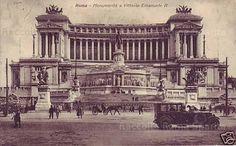 Foto storiche di Roma - Vittoriano Anno: 1930