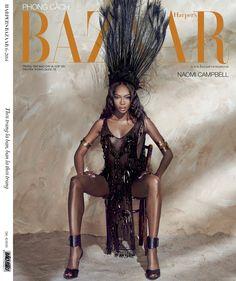 Harper's Bazaar Vietnam, Giugno 2014, modella Naomi Campbell, foto di An Le