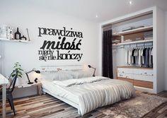Nowoczesna dekoracja na Twoją ścianę! #nowoczesny #napis #na #ścianę #dekoracja #3D #modern #sypialnia #bedroom #modern #decoration