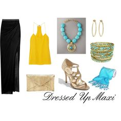 """Dressy Maxi"" by elementsofstyleblog on Polyvore"
