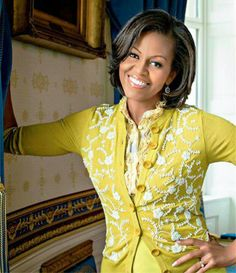 1st Lady Michelle Obama....  Mom/Wife In Chief...