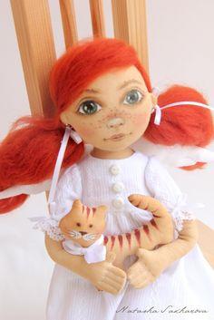 текстильные куклы интерьерные игрушки Сахаровой Натальи: куклы