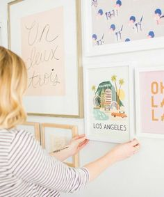 Transform your space with this super-simple gallery wall DIY