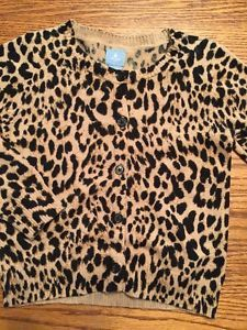 The Children's Place Toddler Girls Size 2T Leopard Print Cardigan ...