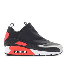 Nike Air Max 90 Utility (black / red / off-white) - Free Shipping starts at 75€ - thegoodwillout.com