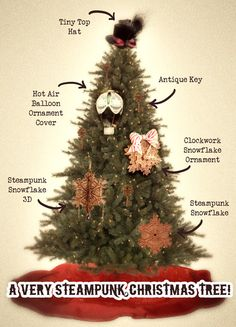 How to Make Your Tree The Steampunkiest In The Land!