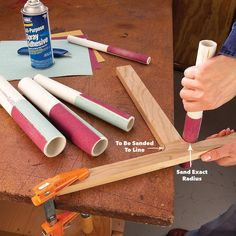 PVC Sanding Files Kreg Jig K4, Limes, Sanding Tips, Table Saw Accessories, Pvc Pipe Projects, Wood Projects, Outdoor Projects, Furniture Projects, Pipe Insulation