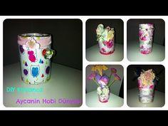 DIY Kendin Yap Kavanoz süsleme, degerlendirme [Turkish Tutorial] l Aycanin Hobby Dünyasi - YouTube