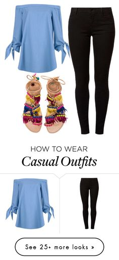 """Casual"" by beyond-myy-thoughtss on Polyvore featuring TIBI, Dorothy Perkins and Elina Linardaki"