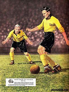 Raich Carter & Don Revie - Hull City