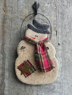 Easy and Cheap Salt Dough Ornament Ideas for Holiday Moments 35 – Homely Salt Dough Projects, Salt Dough Crafts, Salt Dough Ornaments, Clay Ornaments, Star Ornament, Homemade Ornaments, Clay Christmas Decorations, Christmas Clay, Diy Christmas Ornaments