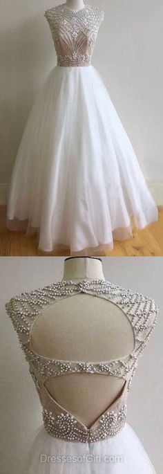 evening gown with sleeves White Prom Dresses, Prom Ball Gowns, Long Formal Dresses, Ball Dresses Open Back Evening Gowns Best Formal Dresses, Stunning Prom Dresses, Prom Dresses For Teens, Prom Dresses 2018, Long Prom Gowns, Beautiful Prom Dresses, Prom Dresses Online, Cheap Prom Dresses, Ball Dresses