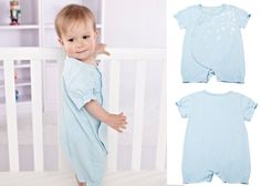 Newborn Infant Baby Girls Short Sleeve Bodysuits Romper Jumpsuit Outfit 0-3M #ibaby