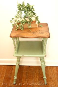 """The Cozy Old """"Farmhouse"""": Furniture Re-do's"""