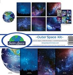 Reminisce OUT200 Outer Space Scrapbook Collection Kit -- Details can be found by clicking on the image.Note:It is affiliate link to Amazon. #ilikeyou
