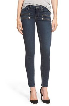 Paige Denim Paige Denim 'Transcend - Edgemont' Ultra Skinny Jeans (Amaris No Whiskers) available at #Nordstrom