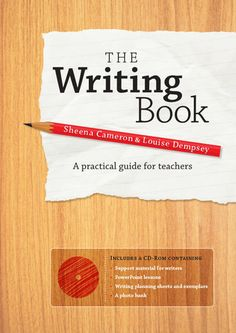 The Writing Book is a teacher friendly guide to teaching writing at emergent, early and fluent levels. It includes practical information that will support primary and middle school teachers to plan and deliver an effective writing programme. Teaching Writing, Writing Activities, Writing A Book, Writing Ideas, Writing Studio, Primary Teaching, Teaching Tools, Teaching Ideas, Education Quotes For Teachers