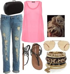 """""""Summer Casual"""" by small-town-country-gurl on Polyvore"""