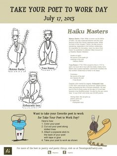 Take Your Poet To Work The Haiku Masters
