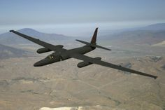 "Lockheed U-2 strategic reconnaissance aircraft aka ""The Dragon Lady""."