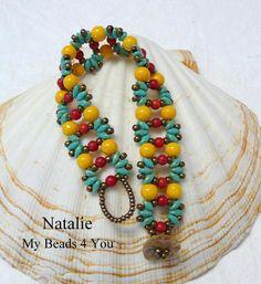 (5) Name: 'Jewelry : SuperDuo Natalie Beadwoven Bracelet