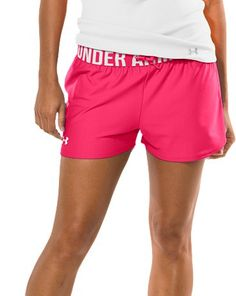 We love these bright Under Armour #running shorts. They're perfect for outdoor summer jogs!