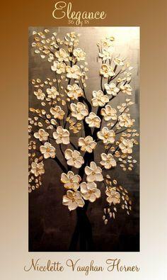 Pintura original impasto contemporáneo abstracto arte por artmod
