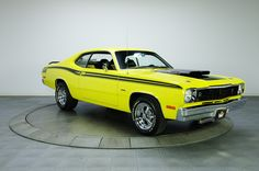 1973 Plymouth Duster Yellow