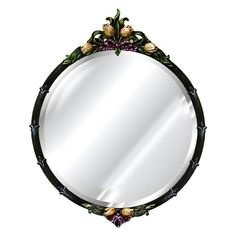 Hickory Manor House Tulip Mirror - 27.5W x 34.5H in. - 6025
