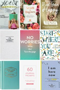 Whether you've always loved journaling or you've always wanted to start, here are 12 books for journal writing to inspire you! Book Prompts, Writing Prompts, How To Better Yourself, Finding Yourself, Self Exploration, Daily Mantra, Self Development, Personal Development, 12th Book
