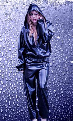 Vinyl Rainsuit