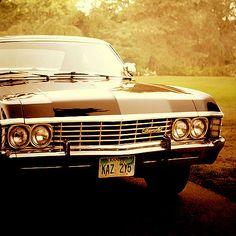 I want dean winchester's car!!! #supernatural