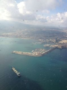 Melilla desde el aire. Foto de Rebeca Ferrol Calero