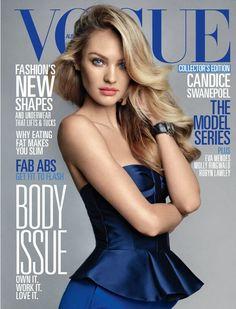 Candice Swanepoel covers #Vogue Australia - June 2013