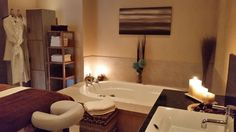 Our beautiful Spa Room.