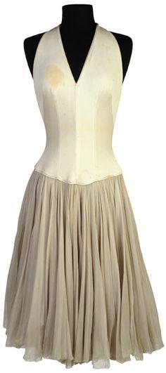 One of Marilyn Monroe's favorite dresses, designed by Jax.