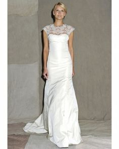 Top 5 Wedding Dress Trends for 2013.#3 Illusion