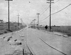 1940 - Rua Capitão Pacheco Chaves no bairro de Vila Prudente.