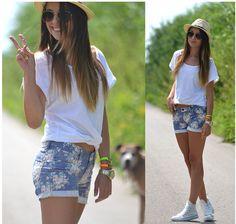 Een hele leuke  zomer outfit.  Niksmis mee tog.
