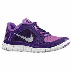 meet 799a5 b141a Nike Free Run + 3 - Womens - Laser Purple Grand Purple Pure Platinum - Lady  Footlocker · Discount Running ShoesDiscount ...