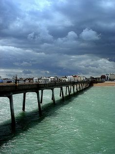 Deal, England - I've walked this pier in Deal, such a lovely little beach-side town!