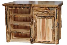 Deluxe Bar in Log Front (60″W)