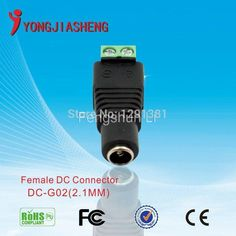 10pcs 2.1x5.5mm female DC Power Jack Adapter Screw dc female Connector for CCTV CAMERA freeshipping Digital Guru Shop  More details here--->http://go.ad2upapp.com/afu.php?id=797489