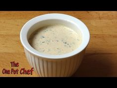 Quick Tips: Home Made Ranch Dressing - YouTube
