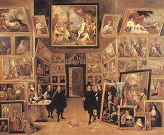L'Archiduc Léopold-Guillaume dans sa galerie de peinture (1647), D. Teniers the Younger