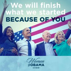 We wil finish what we started!